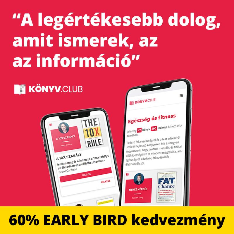 Könyv.Club regisztráció