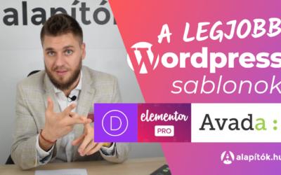 A legjobb WordPress sablonok